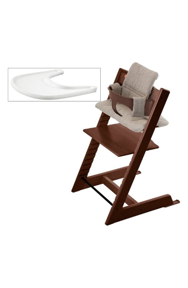 Tripp Trapp 成长椅+坐垫+餐盘一整套