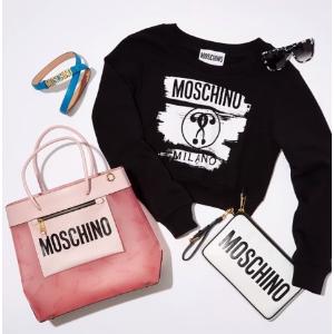 低至2折 收小熊围巾多色可选MOSCHINO 精选热卖 羊毛围巾$43,经典印花卫衣$153