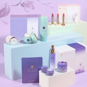 Get a FREE mystery DELUXE Sampleon  $35+ orders @Tatcha