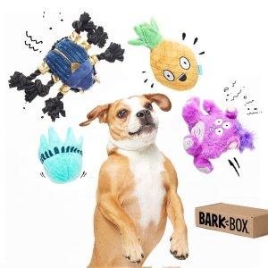 $24.99(原价$35.99)限今天:BarkBox 汪星人玩具礼盒促销
