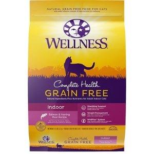 WellnessComplete Health 三文鱼鲱鱼味无谷室内猫猫粮 11.5lb