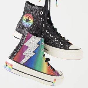 $25.00起+无门槛包邮Converse Pride彩虹系列服饰、鞋履上新