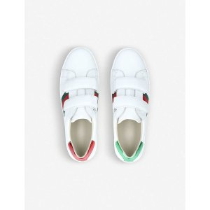 GucciNew Ace VL leather trainers 8-10 years