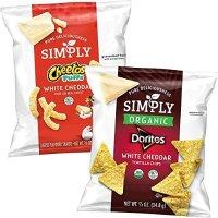 simply Doritos & Cheetos 白芝士混合包装 36包