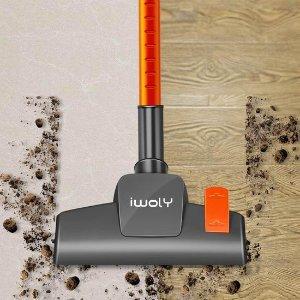 $69.98(原价$89.99)Iwoly V600 立式/手持 二合一吸尘器 解放双手 加倍清洁