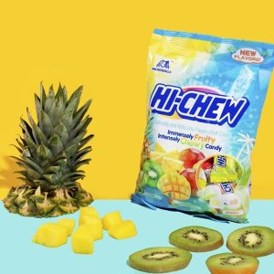 低至$6.56 多种口味可选Hi-Chew 果汁夹心软糖 3.17oz 6包 含真正果汁