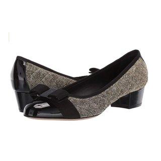 现价$292.5(原价$650) 一个码就一双Salvatore Ferragamo 经典款Vara蝴蝶结鞋