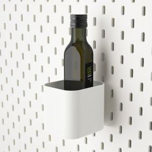 SKÅDIS Container - white - IKEA