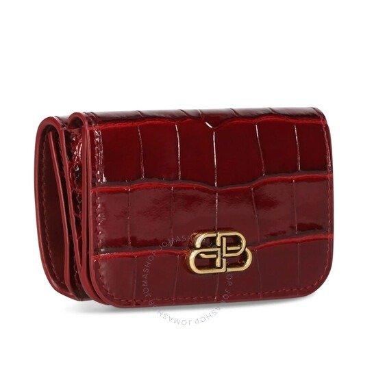 Dark Red 牛血红钱包