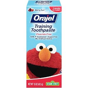 $2.89Orajel Elmo Fluoride-Free Training Toothpaste, 1.5 Oz @ Amazon