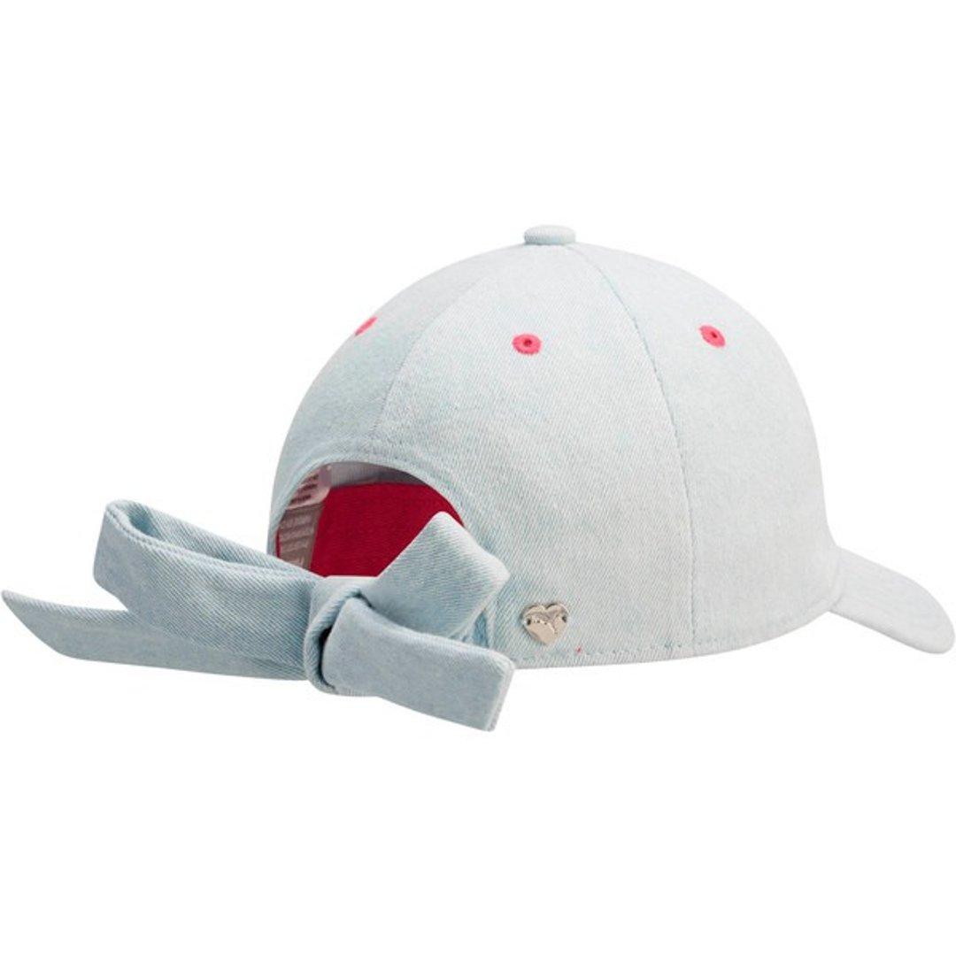 儿童蝴蝶结鸭舌帽