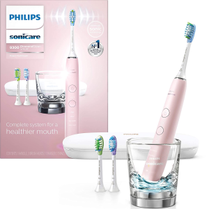 Philips Sonicare DiamondClean Smart Electric, Rechargeable toothbrush for Complete Oral Care 9300 Series