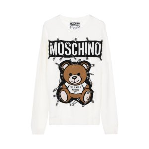 Moschino Bear Wool Knitted L/S Sweater