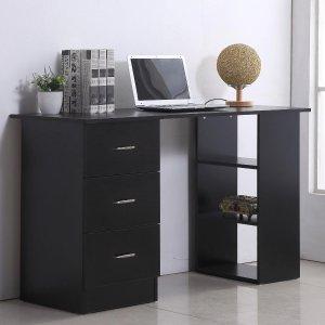 电脑桌 带储物收纳柜