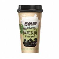 抹茶双拼 珍珠奶茶 珍珠果+葡萄干 85g