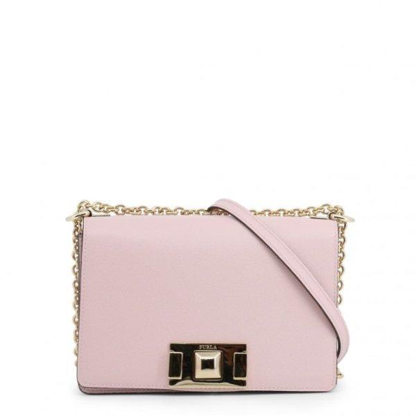 粉色盒子链条包