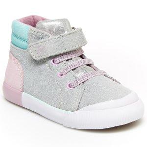 Stride Rite女童高帮鞋