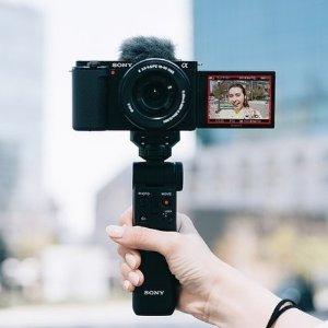 $999 加量不加价新品上市:Sony ZV-E10 数码相机发布 可更换镜头设计 2420万像素