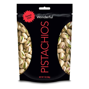 $2Wonderful Pistachios Sweet Chili Pouch, 7 Ounce