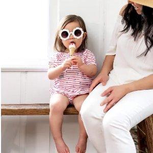 全站8折 包臀淑衫3件$11.49Burt's Bees Baby 婴幼童有机棉服饰、床品等独立日特卖