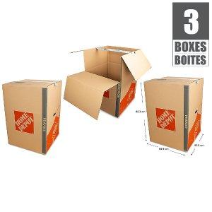 衣服挂起来直接搬衣柜式纸箱 3枚