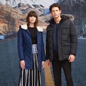 额外7.5折 收高颜值外套独家:Andrew Marc 全场男女服饰热卖 秋冬新款上线