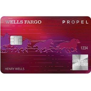Earn 30K bonus pointsWells Fargo Propel American Express® Card