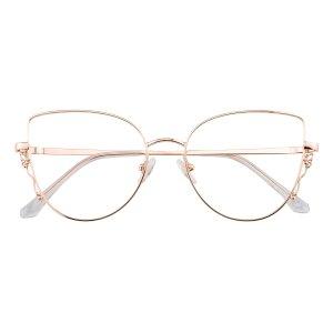 GlassesshopCelia 玫瑰金金属镜框