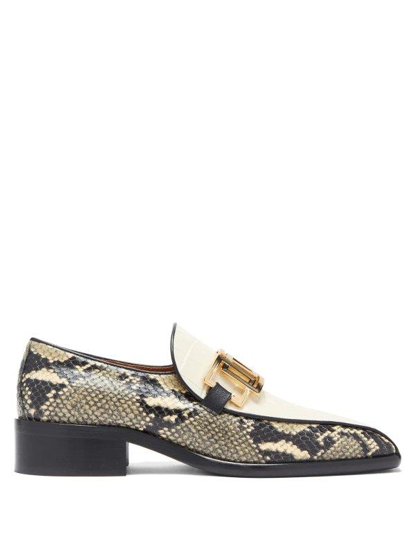 蛇纹乐福鞋
