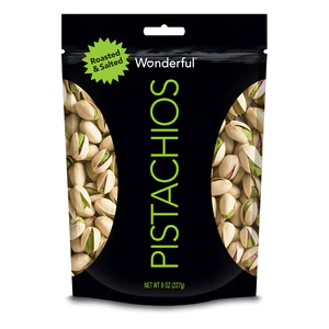 Wonderful Pistachios Roasted and Salted 8oz