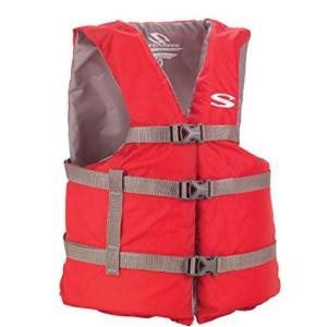 $15(原价$39)Stearns 成人款红色救生衣