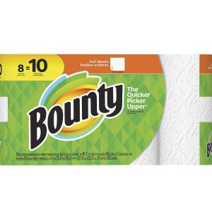 $7Bounty Paper Towels Large Rolls White
