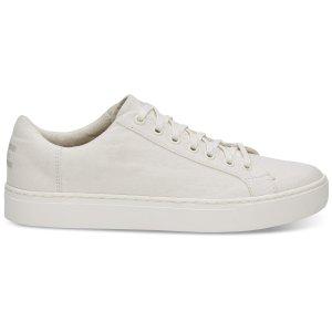 TomsWhite Canvas Men's Lenox Sneakers