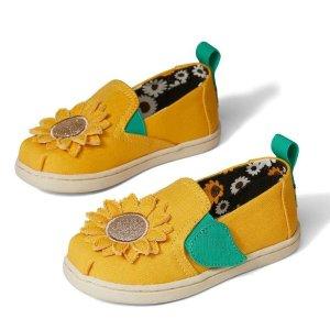 $14.97起 能凑亲子款TOMS 童鞋低至4折惊喜闪购,有凉鞋