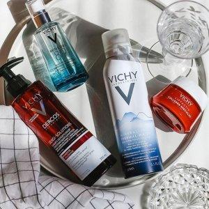 满$60送9件套+免邮开学季:Vichy 薇姿护肤品热卖  收温泉喷雾、89号精华