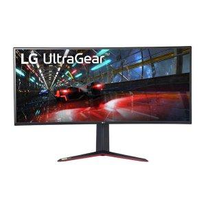 """LG 38GN950-B 38"""" 4K G-Sync 超宽曲面游戏显示器"""