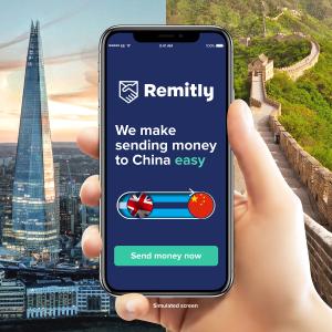 新用户首单免手续费+汇率优势Remitly 神仙转账软件 用不完的英镑换回人民币 支付宝秒到账