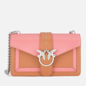 Pinko拼色燕子包