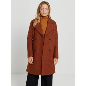Frank And OakThe Skye Recycled Wool Coat in Cardamom