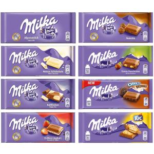 $23.65 一条仅$2.95Milka 欧洲人气条装巧克力 8款热销口味装