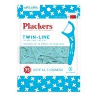 Plackers 双线美白牙线棒 75支