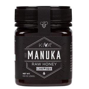 $37.99Kiva Certified UMF 15+ Raw Manuka Honey - New Zealand (8.8 oz)