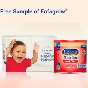 Free Enfagrow Toddler Next Step 10oz Sample