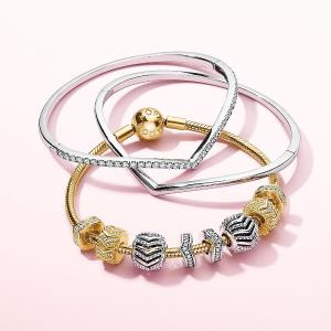 买2赠1 变相6.6折 买它买它买它最后一天:Pandora Jewelry官网 纪念日正价美饰优惠