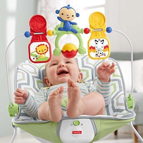 婴幼儿电动蹦跳摇椅