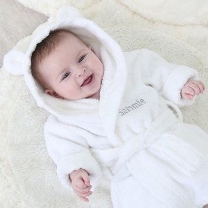 My 1st YearsBuy one Get One Half OffPersonalized Hooded Towelling Robe