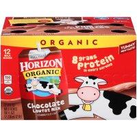 Horizon Organic 巧克力低脂有机奶 12盒