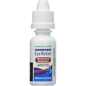 Bausch & Lomb Advanced Eye Relief Redness Maximum Relief Drops - 2 pk.