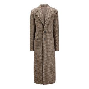 Joseph格纹大衣