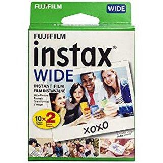 $14.88 (原价$24.95)Fujifilm instax 宽幅拍立得相纸 20张
